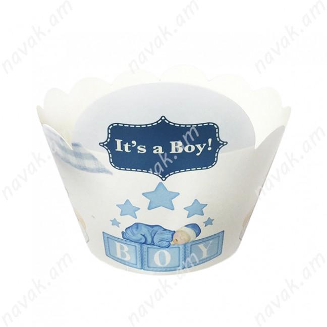 Կեքսի թուղթ It's a boy 6 հատ