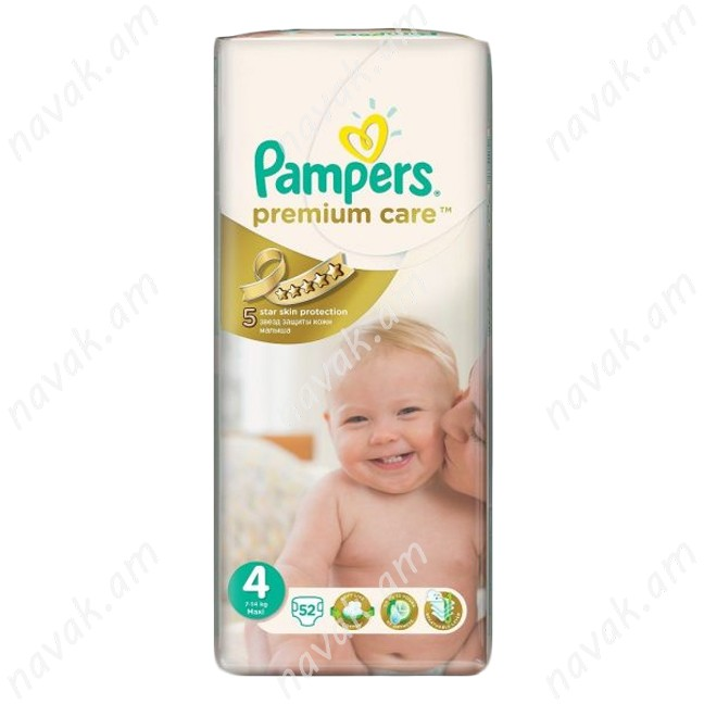 Տակդիր Pampers Premium Care N4