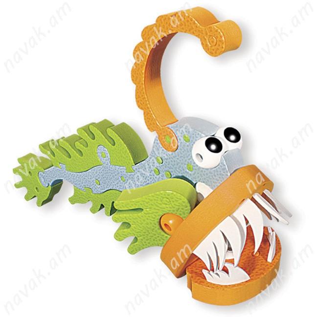 Կոնստրուկտոր Bloco Wildlife Marine Creatures / 5 ֆիգուր