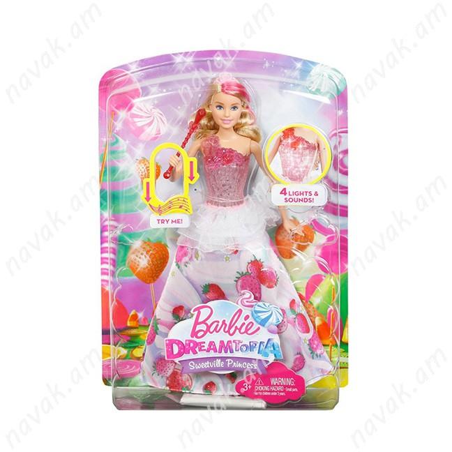 Barbie տիկնիկ Dreamtopia Sweetville Princess
