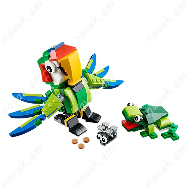 Lego Rainforest Animals 31031 3 in 1