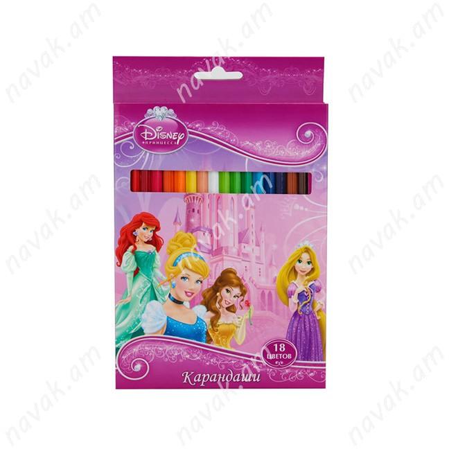 Մատիտներ Disney Princess
