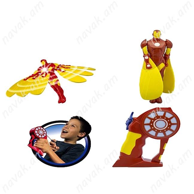 Թռչող տիկնիկ Iron Man